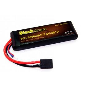 BlackMagic Semi HardCase, 30C 4000mAh 2S