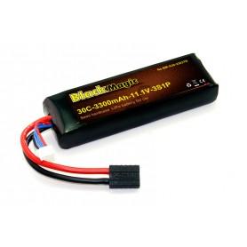 BlackMagic Semi HardCase, 30C 3300mAh 3S