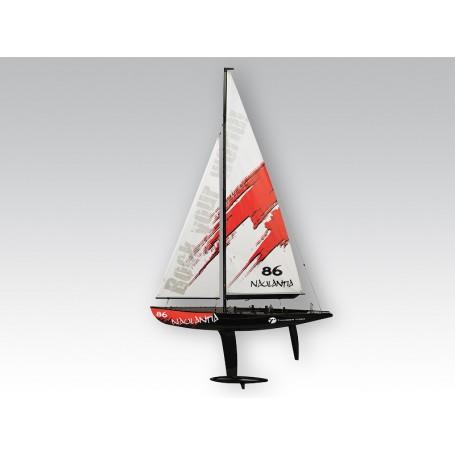Naulantia 1M Yacht röd, Combo Plus