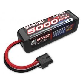Li-Po Batteri 4S 14,8V 5000mAh 25C iD-Kontakt (Kort)* UTGÅTT