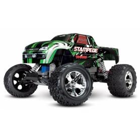 Stampede 2WD 1/10 RTR TQ Röd med Batteri/Laddare