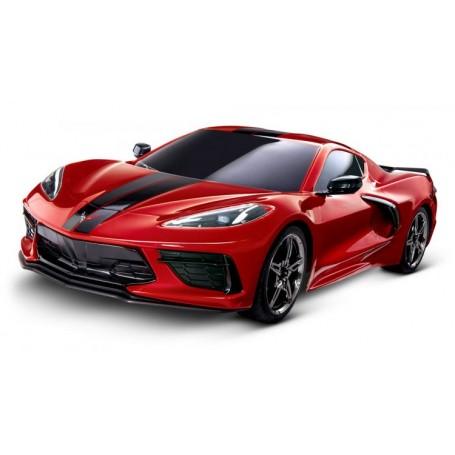 4-TEC 3.0 Chevrolet Corvette Stingray RTR Röd