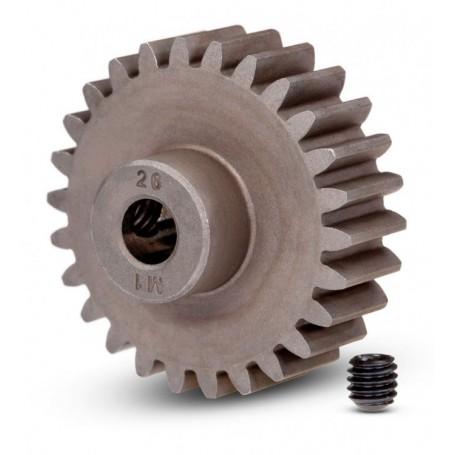 Motordrev (Pinion) 26T 1.0M Pitch för 5mm Axel