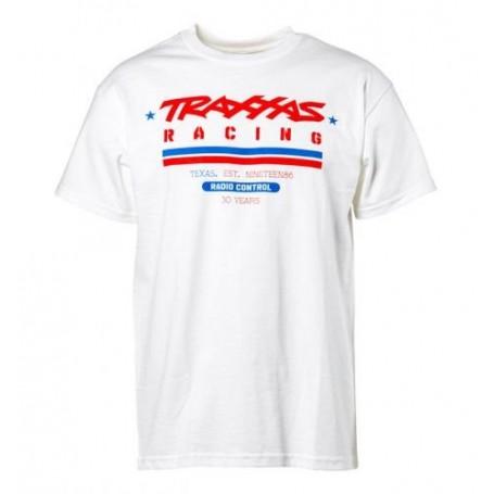 T-shirt Vit Traxxas Racing Heritage XL