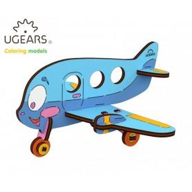 Ugears Flygplan - 4Kids