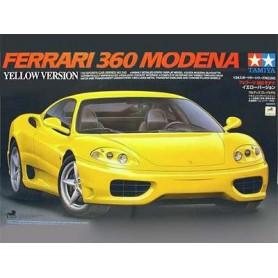 Ferrari 360 Modena Yellow Version 1/24